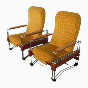 Mid-Century Armlehnstühle, 1960er, 2er Set
