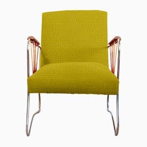 Personalisierbarer Sessel mit Metallgestell, 1960er