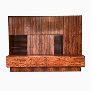 French Rio Palisander Wall Unit, 1970s