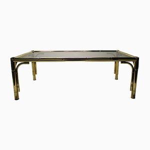 Tavolino da caffè vintage a forma di bambù, anni '70