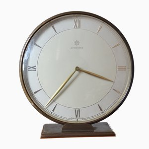 Mid-Century Fireplace Clock from Junghans, 1950s