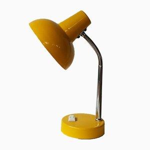Lampada da scrivania gialla, anni '60