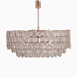 Large Mid-Century Chandelier from Kinkeldey