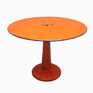 Runder Vintage Tolix Tisch von Xavier Pauchard