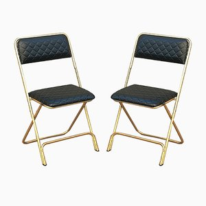 Folding Chairs from Lafuma, 1960s, Set of 2