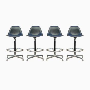 Swivel Stools by Charles & Ray Eames for Herman Miller, 1960s, Set of 4