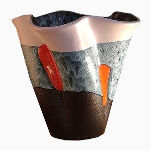 Vase aus Steingut von Elchinger, 1960er