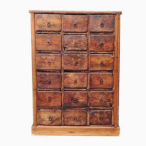 Cajonera vintage de madera
