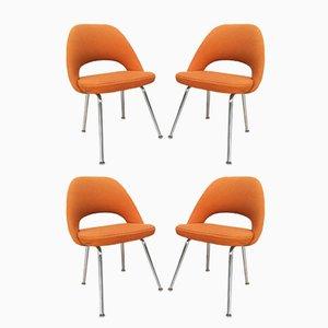 Chaises de Conférence par Eero Saarineen pour Knoll, 1960s, Set de 4