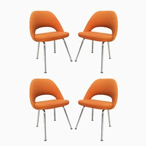 Sedie da conferenza di Eero Saarineen per Knoll, anni '60, set di 4
