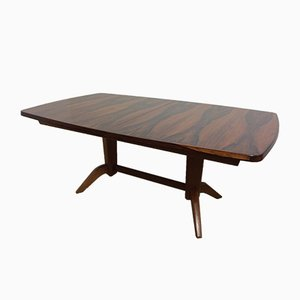 Mid-Century Extendable Rosewood Table, 1960s