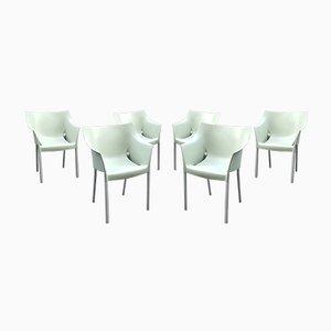 DrNo Armlehnstühle von Philippe Starck für Kartell, 1990er, 6er Set