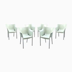DrNo Outdoor Garden Chairs by Philippe Starck for Kartell, 1990s, Set of 6