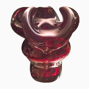 Vase Donkey Vintage par Czeslaw Zuber pour Barbara Glassworks