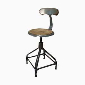 Industrieller Whale Tail Stuhl von Chaises Nicolle, 1950er