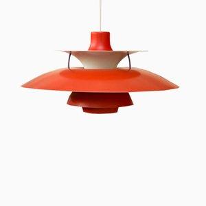 Mid-Century PH5 Deckenlampe von Poul Henningsen für Louis Poulsen