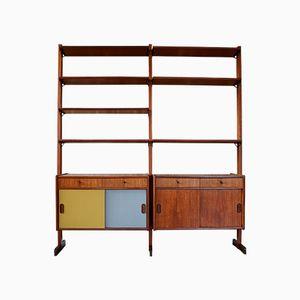 Libreria in teak di Poul Hundevad, anni '60