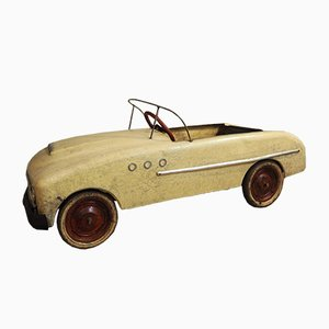 Vintage French Pedal Car, 1950s
