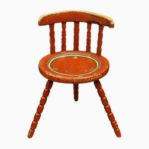 Antique Swedish Wooden Chair