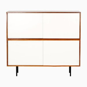 Walnut Highboard by Helmut Magg for DeWe, 1960s