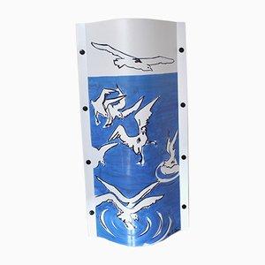 Vintage Blue Dive Lampe von Cristina Cini für Slamp