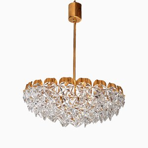 Vintage Crystal Chandelier from Kinkeldey