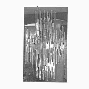 Lámpara de pared de Gaetano Sciolari, años 70
