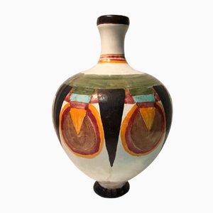 Vintage Keramik Vase von Jean Martel