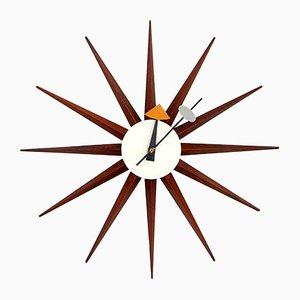 Howard Miller Uhr von George Nelson für Fehlbaum Brothers, Switzerland, 1950er