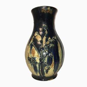 Vintage Keramik Vase von E. BEDU La Borne