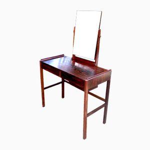Toeletta con specchio regolabile di Arne Vodder per N.C. Mobler, anni '60