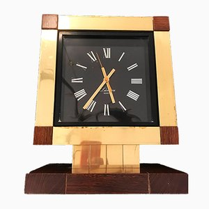 Table Clock by Willy Rizzo for Lumica, 1970s