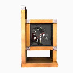 Reloj de pared de Willy Rizzo para Lumica, años 70