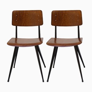 Vintage Dining Chairs by Friso Kramer, Set of 4