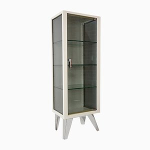 Vintage Metal & Glass Cabinet