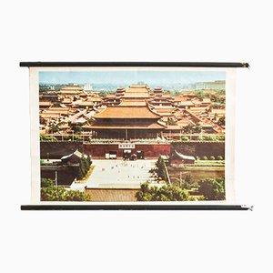 Affiche Chine Mid-Century de Westermann Druck, 1960s