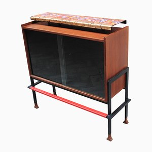 Mid-Century Mobile Bar by Victor Cerrato, 1950s