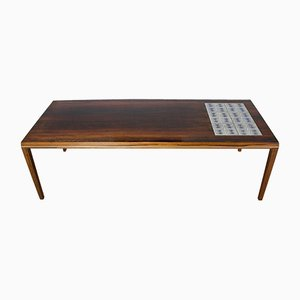 Mid-Century Danish Rosewood Coffee Table from Vejle Mobelfabrik