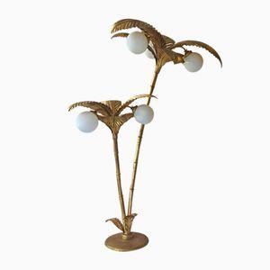 Mid-Century Palm Tree Lamp