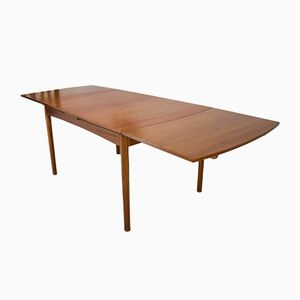 Mid-Century Teak Extending Dining Table from Beithcraft
