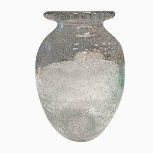 Vaso grande con bolle di Daum, Francia, anni '50