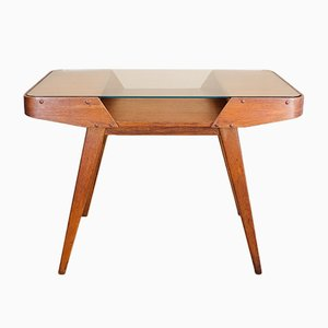 Coffee Table with Glass Top from Interier Praha, 1960s