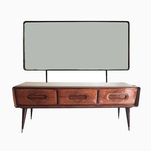Commode à Tiroirs et Miroir Vintage par Vittorio Dassi