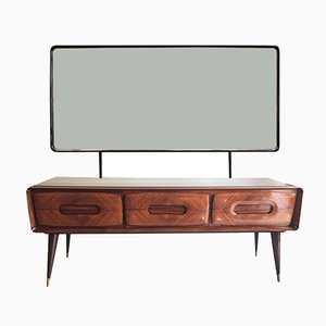 Vintage Chest of Drawers with a Mirror by Vittorio Dassi