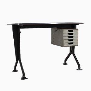 Schreibtisch aus Metall von Olivetti Synthesis, 1960er