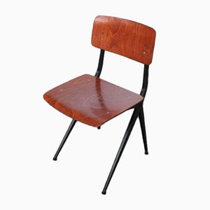 Vintage Dining Chair with Compass Legs from Marko