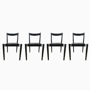 Dining Chairs by Miroslav Navratil for TON, 1970s, Set of 4