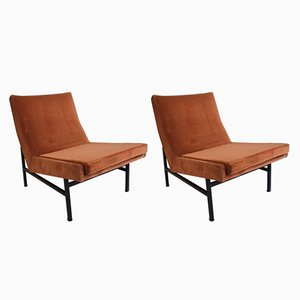 Model 642 Lounge Chairs by ARP for Steiner, Set of 2