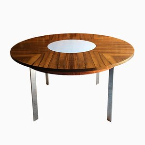 Model 342R Circular Dining Table by Richard Young for Merrow Associates, 1960s