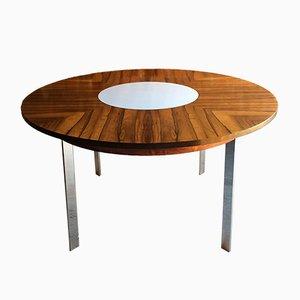 Tavolo da pranzo rotondo modello 342R di Richard Young per Merrow Associates, anni '60